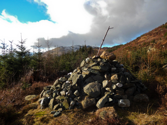 The Cairn in Winter