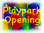 Village Playpark Opening