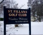 St Fillans Golf Club AGM