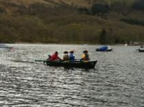 The Great Loch Earn Boat Race